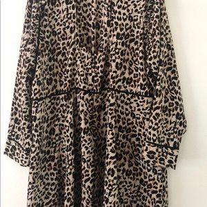 ASOS Curve Dresses - ASOS curve animal print high neck dress 22